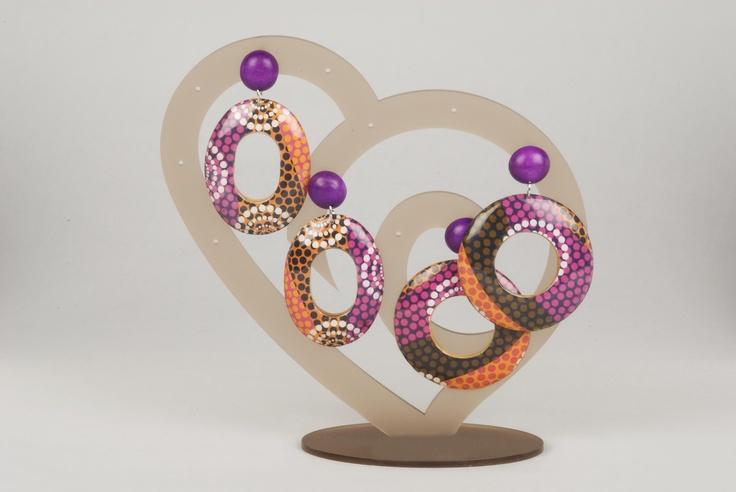 Orecchini/ Earrings, P/E 2013, NATURALIA By Barbieri Creazioni