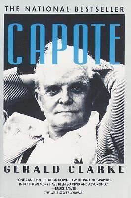 Capote 1989 by Clarke, Gerald (1988, Paperback) Available at morganshiddentreasures.com for $4.99