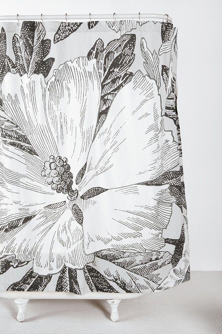 Kraken shower curtain - Etched Flower Shower Curtain 29 99 10 Off Coupon Code Springit