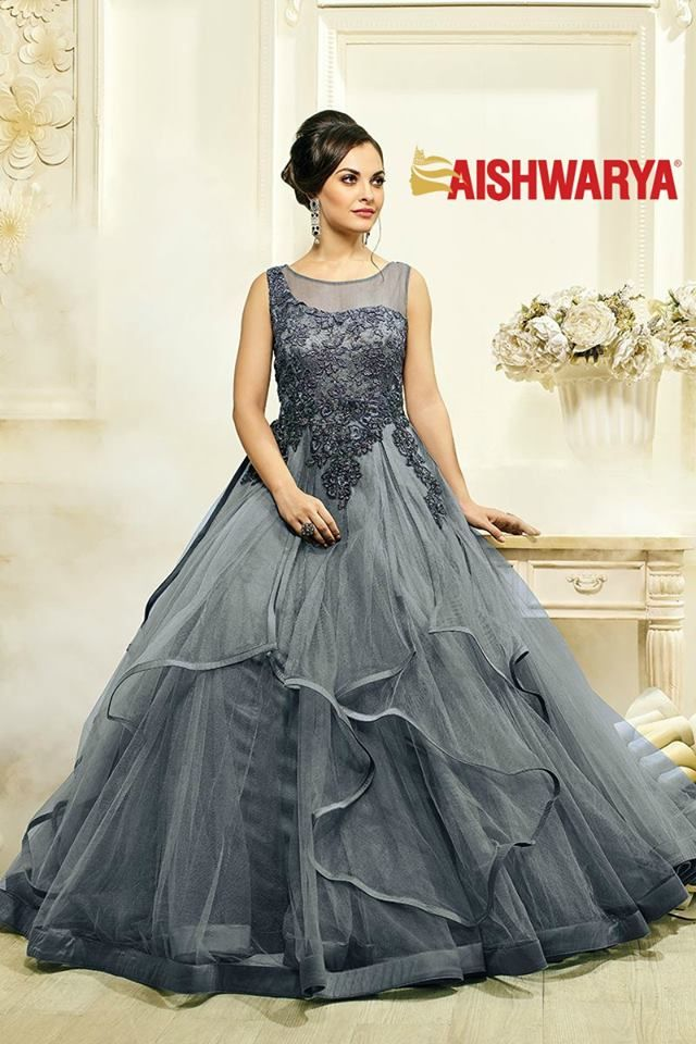 Glorious grey designer bridal gown | African fashion | Pinterest ...