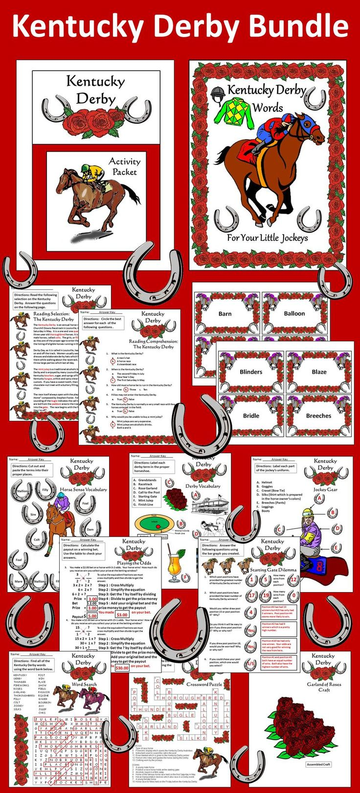 kentucky derby party betting games fiesta sportsbook