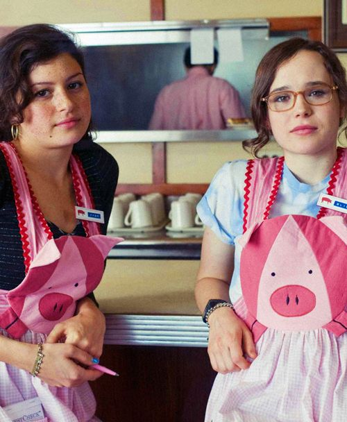 """Alia Shawkat and Ellen Page in """"Whip It!"""" (2009)"""