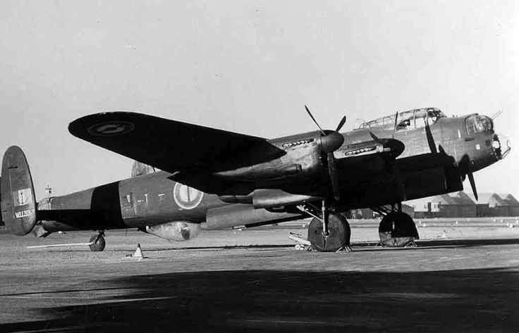 Avro Lancaster, of French Marine Nationale Aéronavale, used post WWII for maritime patrol.