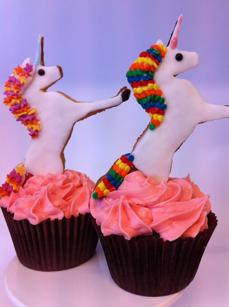 Magic Unicorn cupcakes!