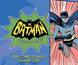 Retro Batman Merchandise for 1960′s TV Series