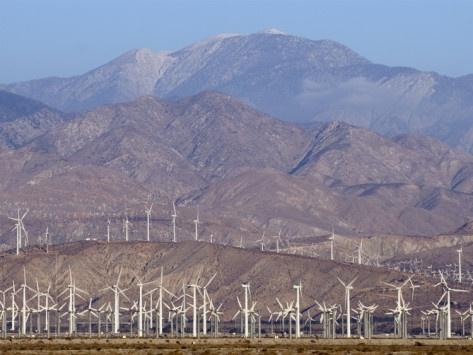 Coachella Valley | Wind Turbines Generating Electricity in Coachella Valley, California ...