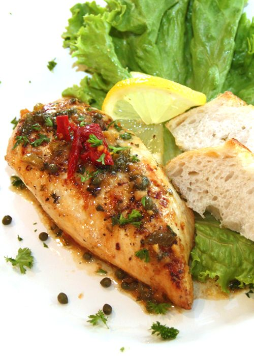 Chicken Picatta recipe   It's what's for dinner!