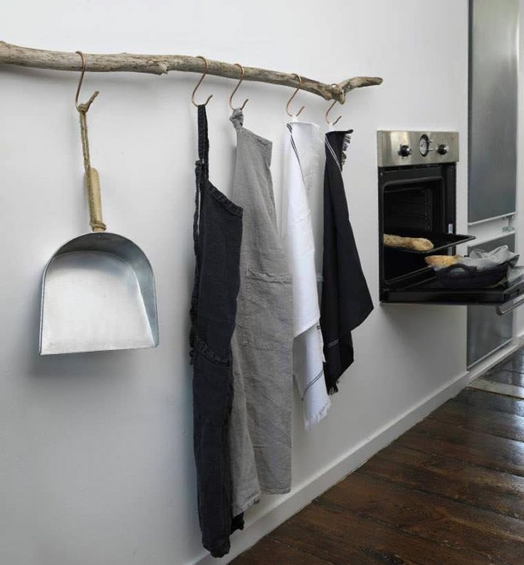Pind bliver til garderobe / knag
