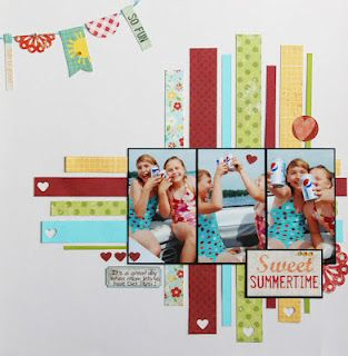 Scrapbook page idea - 3 pics