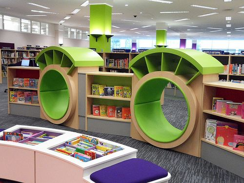 Library Design | Woking library refurbishement July 2012 | Fixtures of fun and function!
