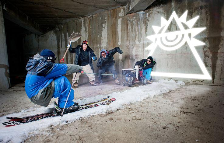 Fabrice Wittner,  - Red Bull Illume: avec Skis Coreupt et Julien Lange