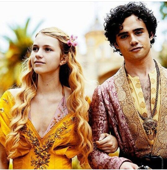 Princess Myrcella of House Baratheon and Prince Trystane of House Martell. Poor babies, they deserved better.