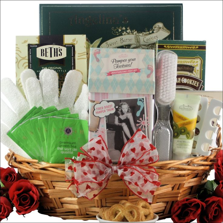 Hands & Feet Specialty Spa: Bath & Body Valentine's Day Gift Basket