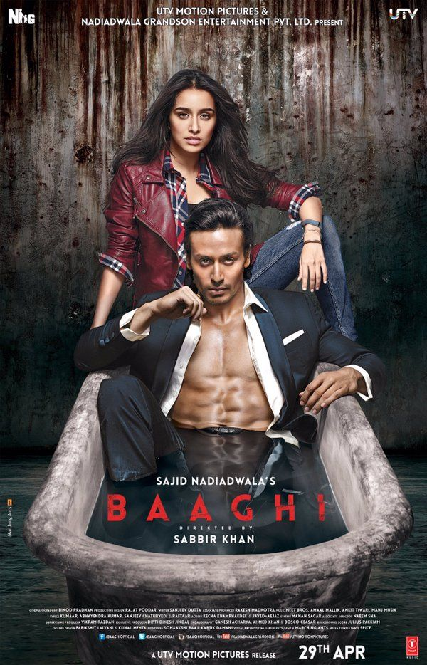 #1WeekForBaaghi are you guys ready?   @ShraddhaKapoor @sabbir24x7 @baaghiofficial