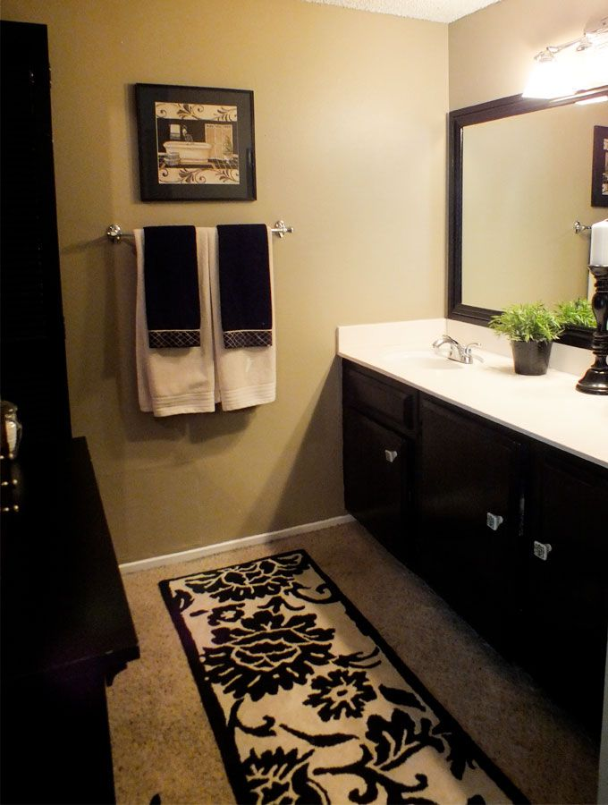 1000 ideas about black cabinets bathroom on pinterest for Bathroom cabinet makeover ideas