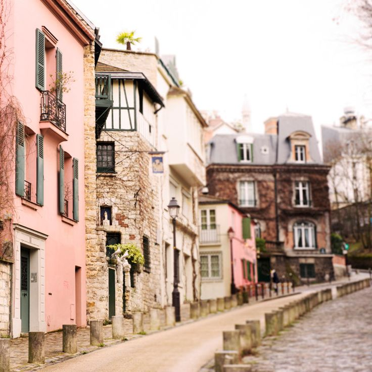 Paris - Street in Montmartre France