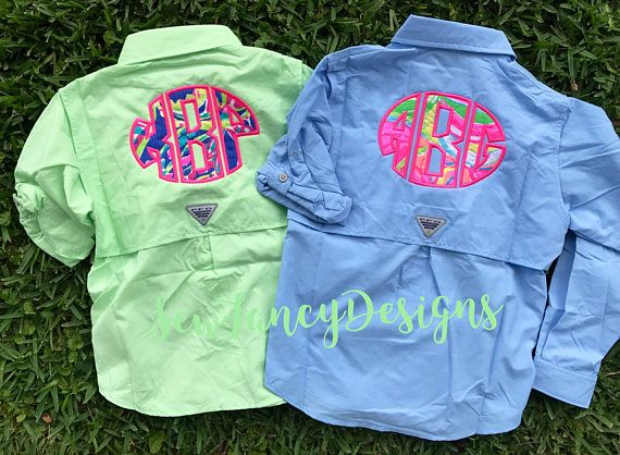 13 best lilly pulitzer must haves images on pinterest for Toddler columbia fishing shirt