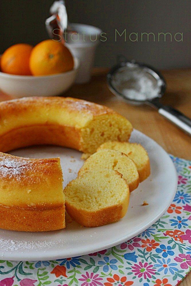 #Buongiorno a tutti,la colazione è pronta! Oggi ciambella con farina di riso e yogurt.... Una nuvola leggera per darsi la carica http://bit.ly/ciambella-farina-riso-yogurt