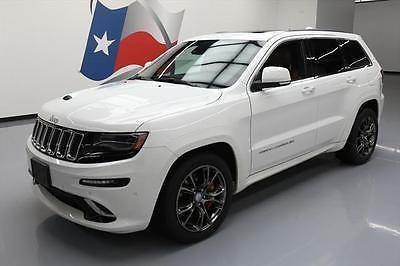 eBay: 2015 Jeep Grand Cherokee SRT Sport Utility 4-Door 2015 JEEP GRAND CHEROKEE SRT 4X4 HEMI PANO ROOF NAV 20K #767425… #jeep #jeeplife