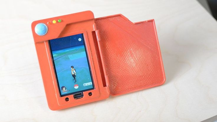 This 3D printed Pokedex is perfect for Pokemon fans