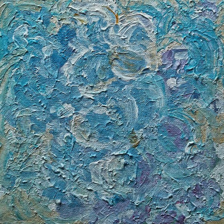 blue / acrylic on canvas