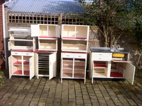1950s Kitchen Cabinets Full Suite Ebay