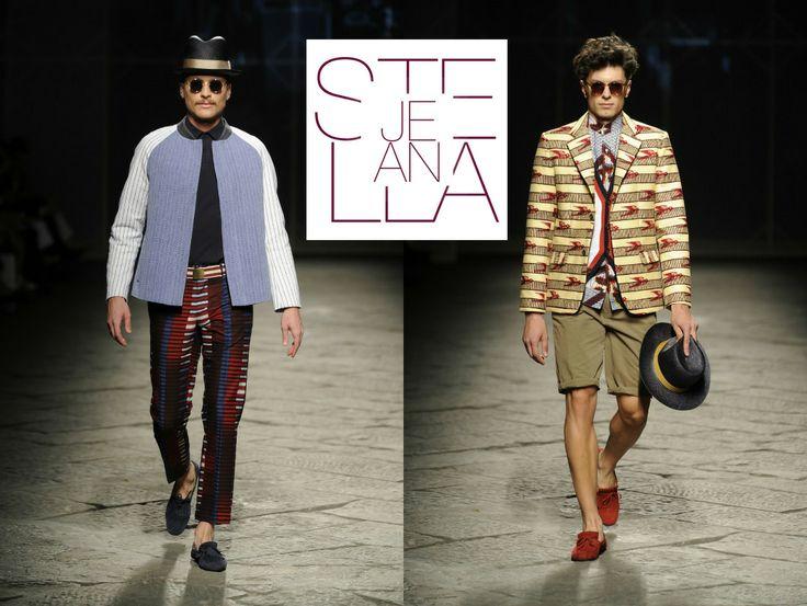 STELLA JEAN ss2014  L'estate del 2014 anche l'uomo potrà indossare quelle coloratissime stampe etno-tribali, la cui espressività si contrappone al taglio ultra-semplice delle casacche e dei pantaloni a sigaretta.  #fashion #moda #shopping #ss2014 #woman #style #men #stellajean   http://www.chirullishop.com/it/78-nuove-collezioni-pe#/designer-stella_jean
