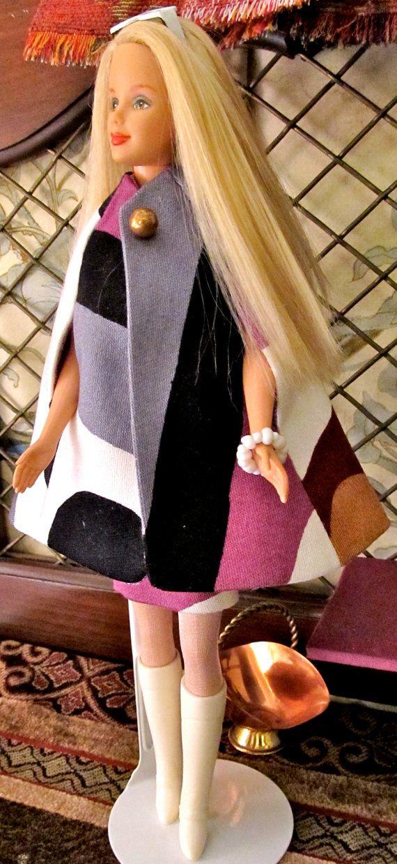 ON SALE 50% Vintage Barbie In Two Piece Mod by DressMeDoll on Etsy