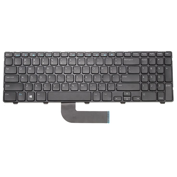 #Dell #Laptop #Keyboard Replacement For #Dell Inspiron 15 3537 15R 5537 US Layout #UnbrandedGeneric