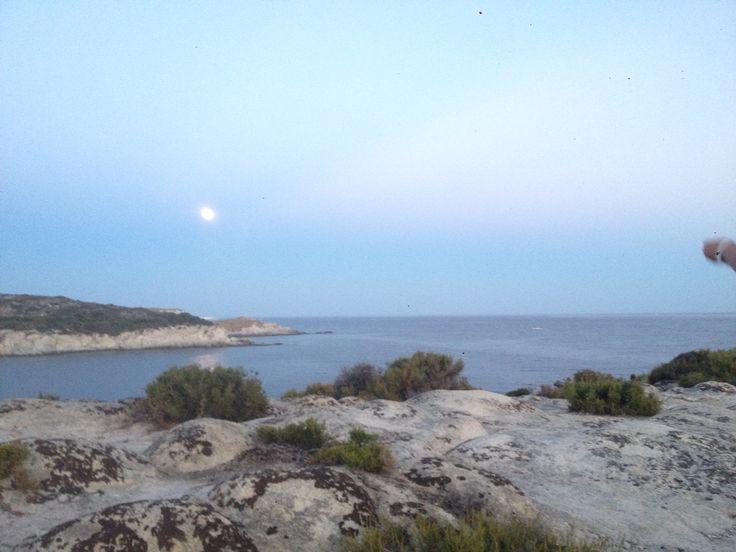 Moon in Greece