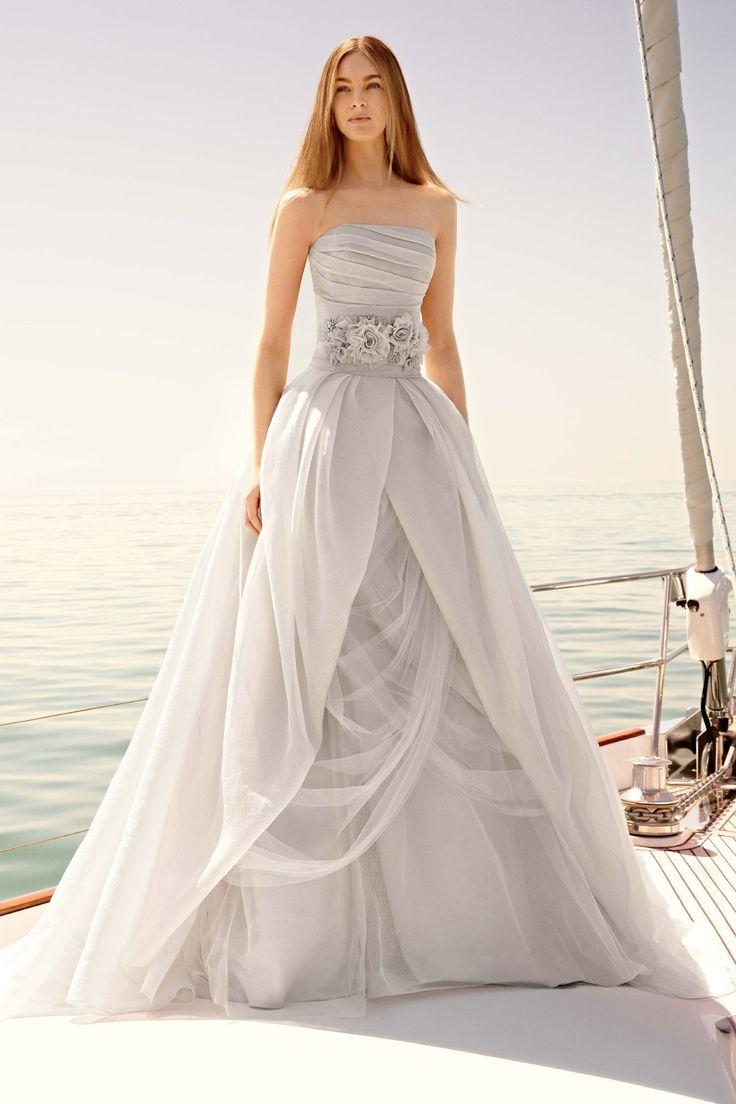Great Best Grey wedding dresses ideas on Pinterest Blue gray weddings Grey wedding theme and Grey wedding colors