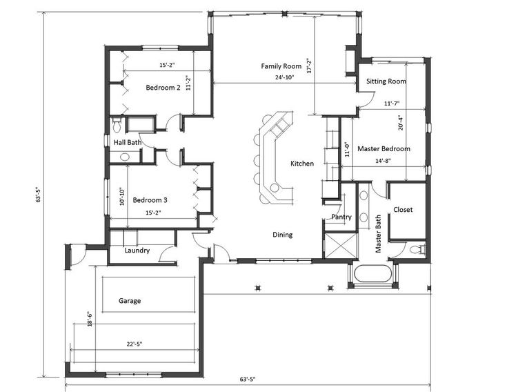 100+ [ Ranch Style House Plans With Garage ] | Remarkable Style ...