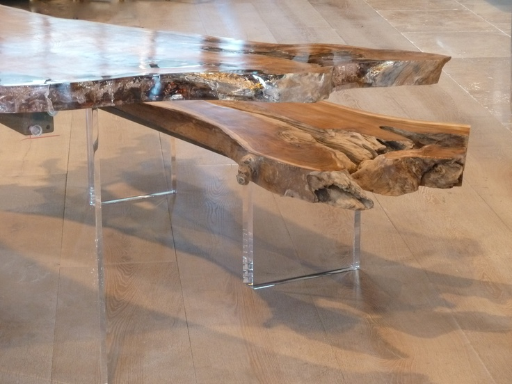 Charmant Materials Collide In This Wood U0026 Ice Collection : Warm Teak Root With  Injected Ice Cold