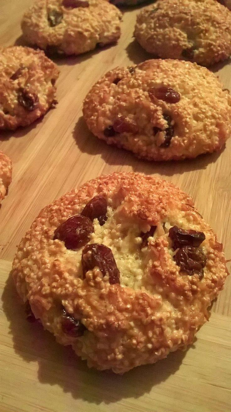 Ale Pyszota! : Bezglutenowe amarantusowe ciasteczka - bez mąki, bez cukru, bez tłuszczu