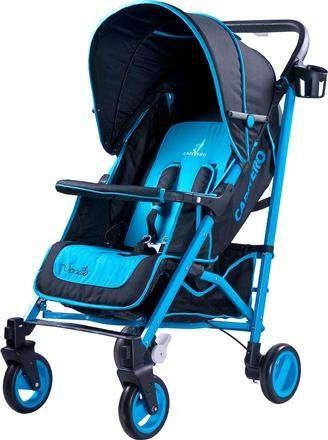 wózek spacerowy dla dzieci niebieski dladziecka-net.pl