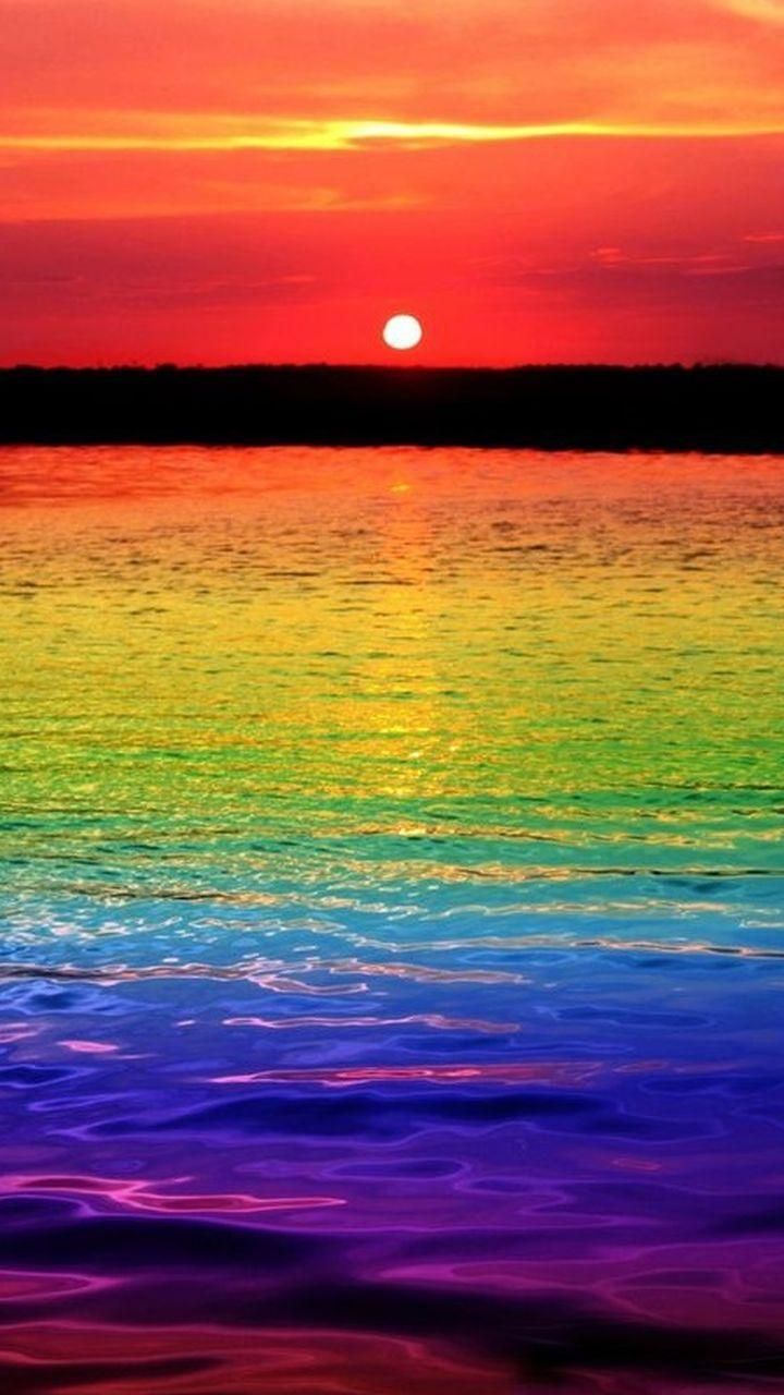 Download Rainbow Sunset Wallpaper By Lizbethxx 32 Free On