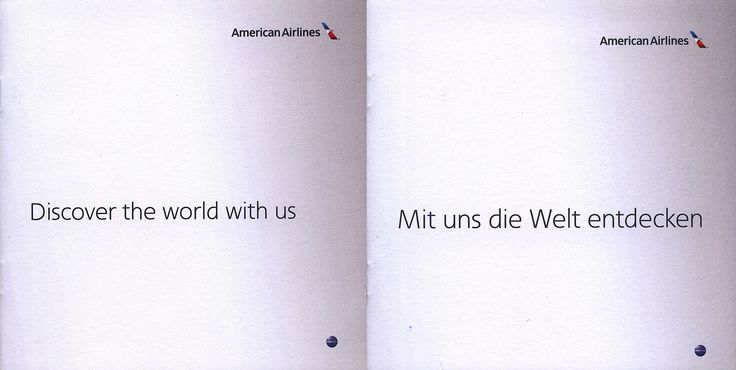 https://flic.kr/p/SZ3tK4 | American Airlines Discover the world with us / Mit uns die Welt entdecken; 2016_1