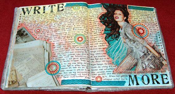 art journal... Write more