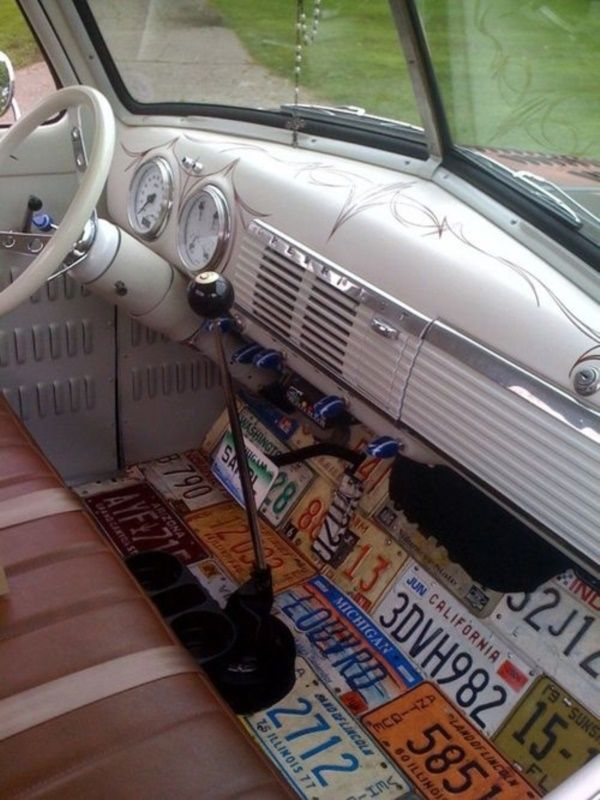 50 Jaw Dropping Car Interior Decor Ideas | http://buzz16.com/jaw-dropping-car-interior-decor-ideas/
