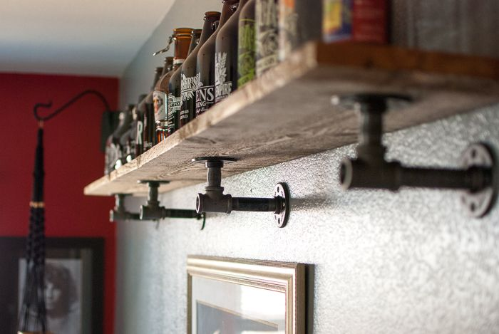 DIY - Bring on the STEEL! Rugged Jewelry Stands for your Metal Pleasure. | The Devil Wears ParsleyThe Devil Wears Parsley