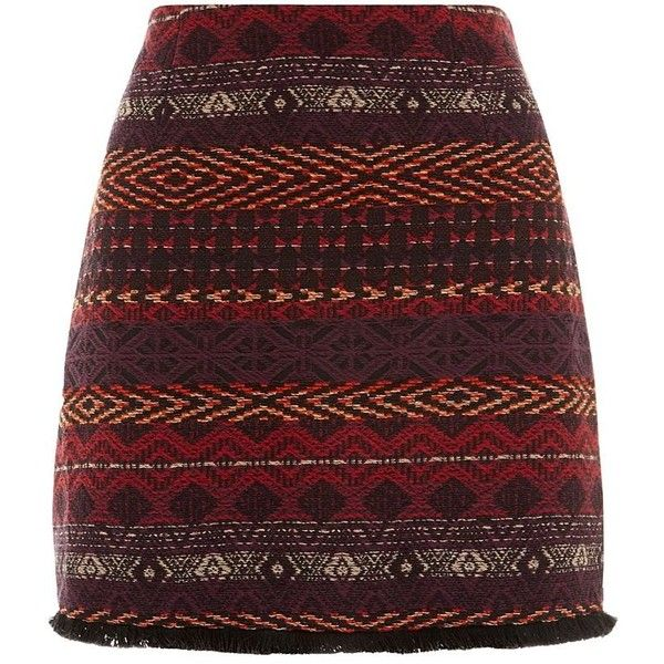 Petite Black Aztec Jacquard Skirt ($30) ❤ liked on Polyvore featuring skirts, mini skirts, bottoms, saias, falda, petite, jacquard skirt, aztec skirt, petite skirts and mini skirt