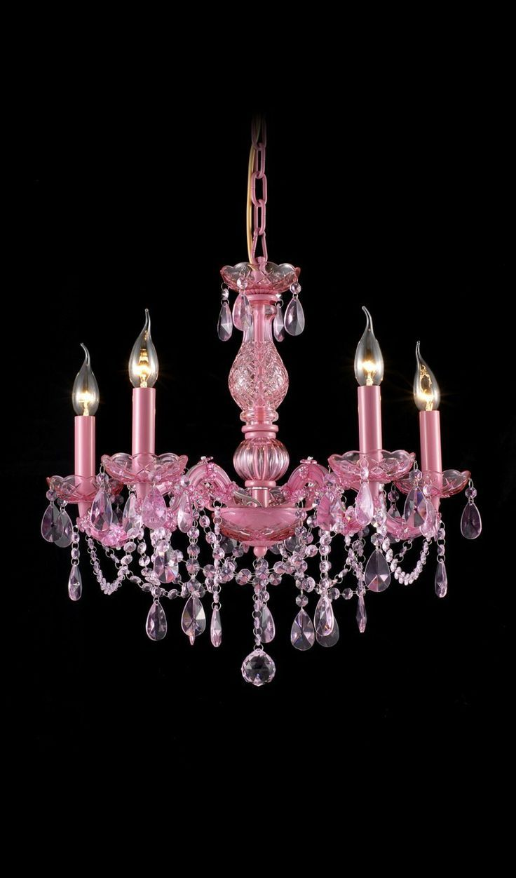 15 alluring pink chandeliers for a girl s bedroom bebe 12832 | e2526cc7cba954ee12203d7d95ffd49e