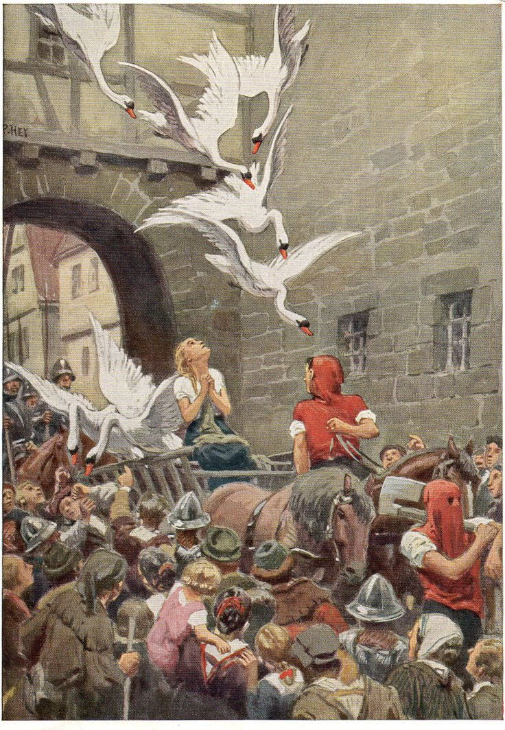 """The Wild Swans"" A Hans Christian Andersen Fairytale"