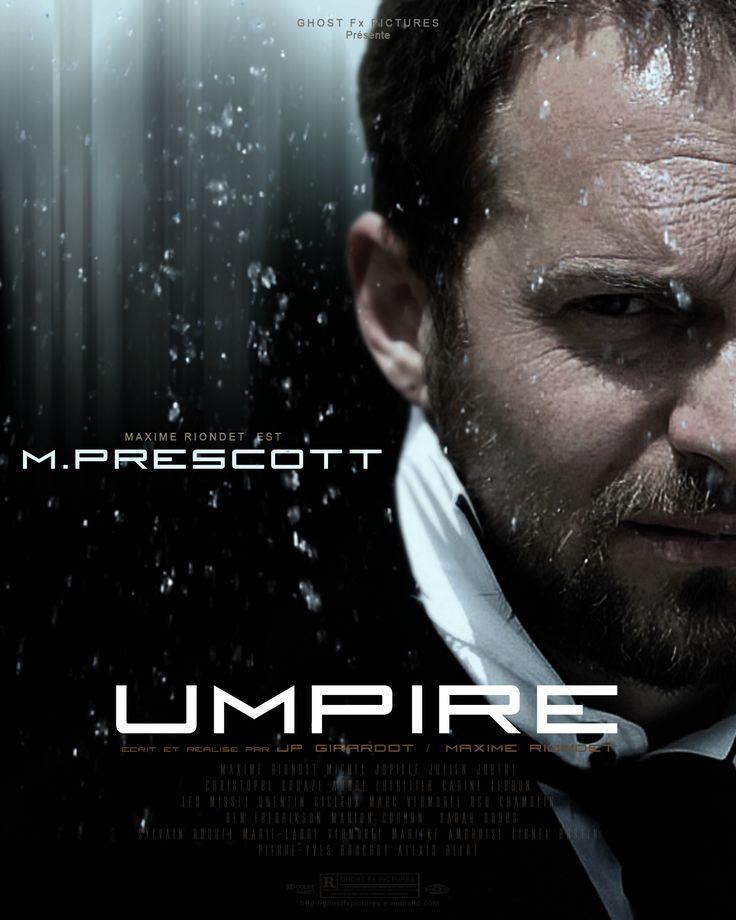 Maxime RIONDET est M.PRESCOTT dans UMPIRE
