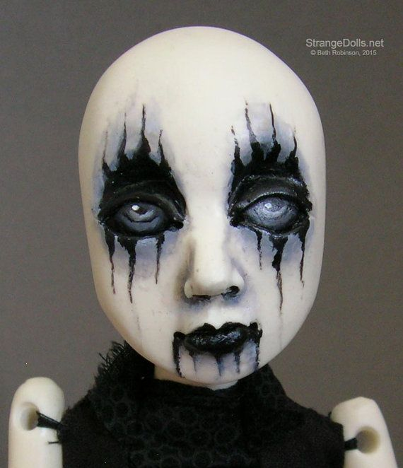 How To Paint A Doll Face For Halloween