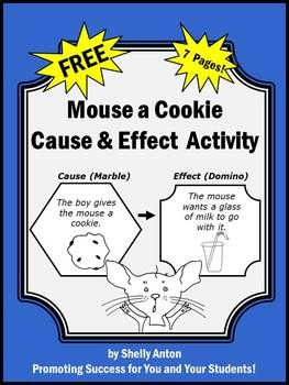 FREE - Here is a fantastic cause and effect worksheet from the popular book, If You Give a Mouse a Cookie. This is a complete lesson plan to help students identify cause and effect relationships. This is a 7 page lesson plan including the introduction, development, practice, independent practice, assessment rubric, and worksheets.
