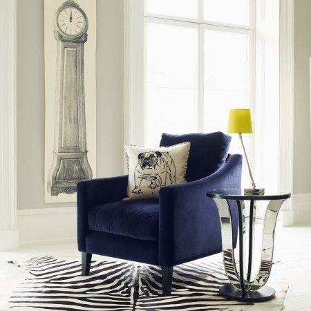 Deep Dream Velvet Armchair - Sofas, Armchairs & Footstools - Furniture