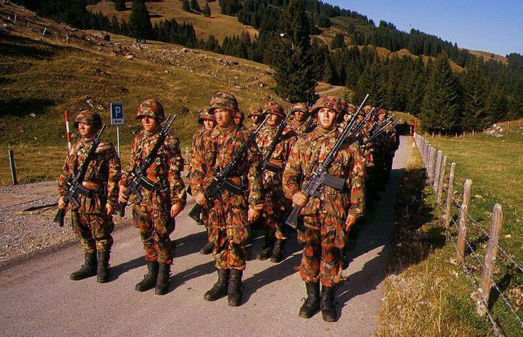 swiss army infantry troops - Google Search