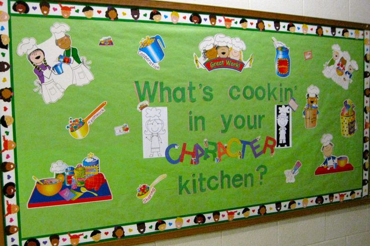 Cafeteria Bulletin Board Ideas | ... cafeteria. I am totally digging our cyberspace collaboration; here's