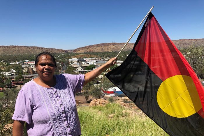 Aboriginal flag designer questions why the town that inspired it refuses to fly it